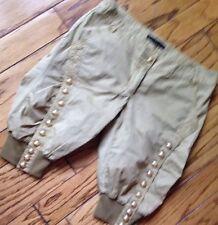 IRIT $240 Womens Shorts 4 6 Fancy Bubble Long Bermudas Poplin Pants CLUB UNQUE