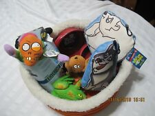 Puppy Starter Kit Bed Toys Dishes PeePads Lot of 9 Items to Get Your Pup Started