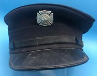 Obsolete 1970's Central Nyack NY Fire Department Engine Co. 6 Hat & Badge