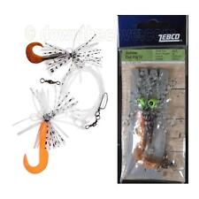 Zebco Rubber Cod Rig IV - 2 Jigheads with Hook Size 3/0 - 1st Class Post!