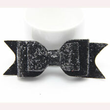 Baby Girls Kid Infant Sequin Bow Knot Hair Clips Grip Sides Hairpins Accessories