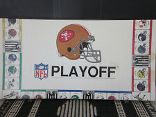 Big League Promotions 1991 NFL San Francisco 49ers Playoff Board Game