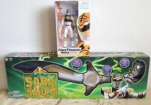 Mighty Morphin Power Rangers SABA The Talking Tiger Sword LEGACY w/ Figure ⭐