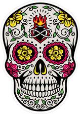 #37 Sugar Skull Sticker Day of the Dead Decal Rockabilly Rock Vintage