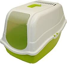 Lettiera Chiusa XL Cassetta Wc Toilette Per Gatti 57x39x41 Con Filtro Antiodore