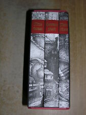 The Gormenghast Trilogy Mervyn Peake (Folio Society, 2000)