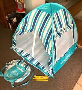 One Step Ahead SUN SMARTIES Baby-Kids Pop-Up Beach-Travel Tent Free Shipping!
