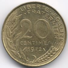France :  20 Centimes 1972