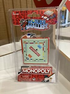 Worlds Smallest Monopoly Board Game!