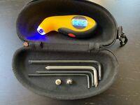 Onewheel PINT Emergency Toolkit - Compact High Quality Go Bag Digital Air Gauge