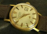 Vostok wostok Date USSR Russian wristwatch 17 jewels 2605 cal gold plated