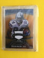 2008 BOWMAN STERLING MARION BARBER 25/25 REFRACTOR JERSEY PATCH DALLAS COWBOYS