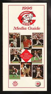 Cincinnati Reds--1996 Media Guide