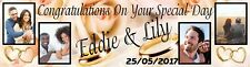 Wedding Day Banner Poster Personalised With Your Photo & Any Theme - just ask?