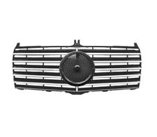MERCEDES 190E W201 AMG STYLE FRONT GRILLE - BIG BADGE STYLE