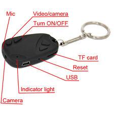 Llavero espia con camara oculta Grabador Videos AVI con audio 30FPS Fotos