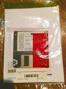 VINTAGE 1998 Microsoft Intellipoint v2.2 Drivers SEALED 3.5 floppy diskette