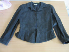 Vintage 1990s Gianni Versace, Italy Wool Gray Womens Blazer Jacket size 44