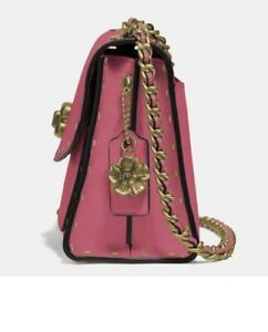 Super Gorgeous coach crossbody Parker With Rivets Pink