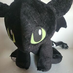 """Build A Bear Toothless How To Train Your Dragon Dreamworks 14"""" Plush Stuffed Toy"""