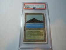 MAGIC THE GATHERING REVISED DUAL LAND TROPICAL ISLAND PSA GRADED 9.0 MINT