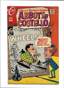 "ABBOTT & COSTELLO #14 [1970 VG+] ""SICKLE PICKLE""    CHARLTON COMICS"