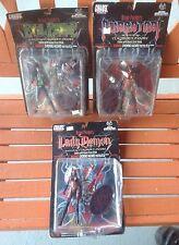 New in Box NIB Brian Pulido's Lady Demon, Evil Ernie, and Purgator All in One