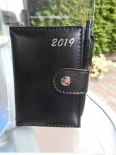 Taschenkalender Wochenplaner Classic mit Stift 2019 - A7 7,5x10,5 cm, schwarz