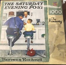 MasterPieces 1000 Piece Jigsaw Puzzle   The Runaway by Norman Rockwell