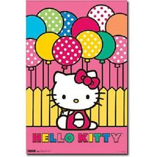 HELLO KITTY MIMMY WITH BALOONS POSTER PRINT NEW 22x34 FREE SHIPPING