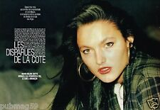 A- Coupure de presse Clipping 1991 (4 pages) Les Disparues de la cote d'Azur