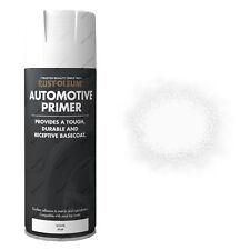 X3 Rust-Oleum AUTO PER RESISTENTE SPRAY VERNICE BIANCO PRIMER MATT