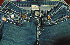 "True Religion ""Rainbow Billy"" Women's Low rise size 24"