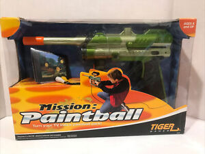 New in Box. 2004 Hasbro Tiger TV Mission Paintball Game Plug and Play Game