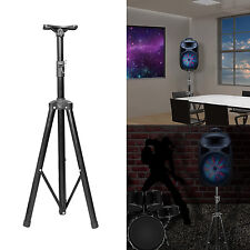 Tripod DJ PA Speaker Stand Holder Mount, Adjustable, Rugged Steel Construction