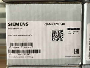 1PCS Siemens QAM2120.040 Temperature Sensor In Box -New Free Shipping