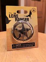 NEW Disney The Lone Ranger Texas Rangers Badge Pin