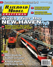 RAILROAD MODEL CRAFTSMAN DEC.2020 / WIRES OVER THE NEW HAVEN.