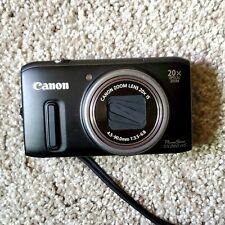 Canon PowerShot SX240 HS 12.1MP Digital Camera 20x - Black