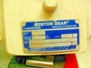 "Boston Gear BKCF715-40P-B5-JS Washdown Motor 40:1 ratio, 3/4"" Shaft, 5/8"" input"