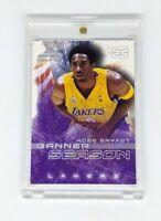 2001-02 Fleer Marquee Banner Season #10BS Kobe Bryant Los Angeles Lakers HOF