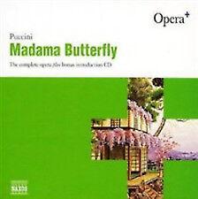"PUCCINI ""MADAMA BUTTERFLY"" plus BONUS INTRODUCTION CD  NAXOS 3 CDs"