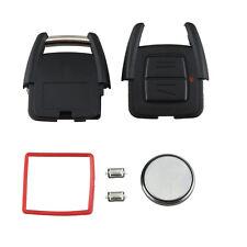 For Vauxhall Opel Astra Vectra Zafira Remote Key Fob Case Full Repair Kit LJ
