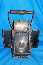 WWII German Railroad Lantern Carbide Lamp Reich Railway DR Deutsche Reichsbahn