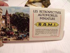 """R.A.M.I.,COLLECTORS CATALOG,1970s??, COLOR,40 PAGES,5.5""""X3"""",EXCELLENT CONDITION"""