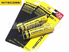 Nitecore 18650 3200 NL188 3.7v Protected Li-ion NCR18650A Rechargeable Battery