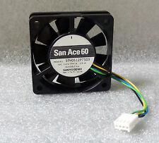 Sanyo Denki San Ace 60mm x 15mm High Speed PWM Fan 4 Pin 12V + Bonus Extension