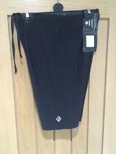 BNWT Ron Hill Marathon Sprint Shorts Black Drawstring Waist X Large 80% Polyamid
