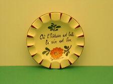 """Assiette/Coupelle Décorative Vide poche """" Gérardmer """" Fleur  French Plate Flower"""