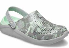 NEW Womens Crocs LiteRide Printed Camo Clog Shoes, size 9